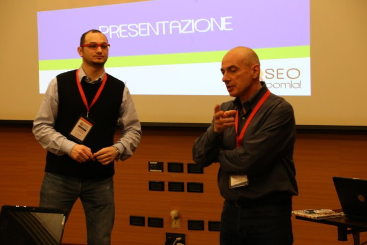 La mattinata al SEO Joomla il Workshop - Milano 2015