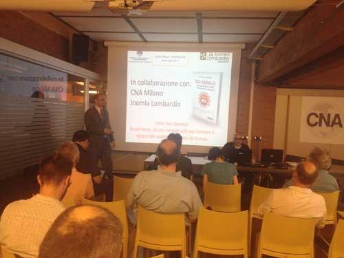 Slide del workshop alla CNA di MIlano su Seo Joomla e Siti effficaci con Joomla