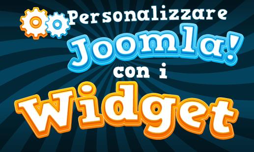 Widget per aggiungere funzionalità ai siti Joomla!